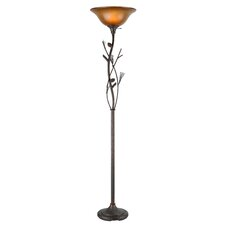 Pine Cone Torchiere Floor Lamp