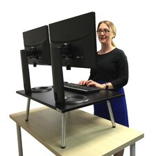 """The Executive Stand Steady Standing Desk, Stand up Desk, 32"""" x 22"""" desktop"""