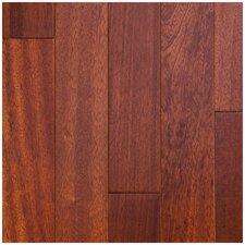 "3-1/2"" Engineered Brazilian Cherry Hardwood Flooring in Classic"