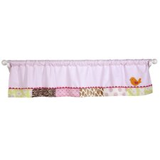 Jungle Window Valance