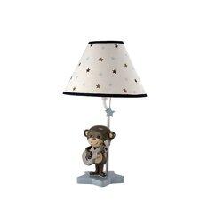 Monkey Fabric Empire Lamp Shade