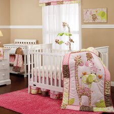 Jungle 4 Piece Crib Bedding Set