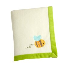 Pond Embroidered Polyester Baby Blanket
