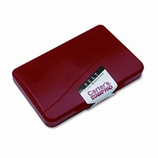 Felt Stamp Pad, 4.25w x 2.75d, Red (Set of 3)