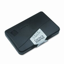Foam Stamp Pad, 4.25w x 2.75d, Black (Set of 5)