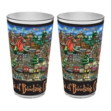 Bowling Green, OH Pint Glass (Set of 2)