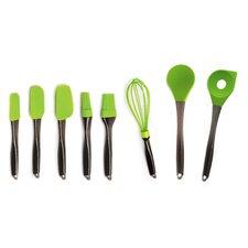 Geminis 8 Piece Green Utensil Set