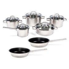 Hotel Line Stainless Steel Manhattan 12-Piece Cookware Set