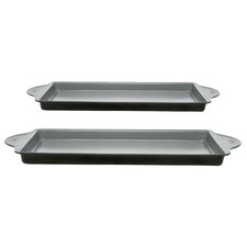 Earthchef 2 Piece Cookie Sheet Set