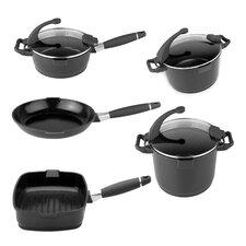 Virgo 8 Piece Cookware Set