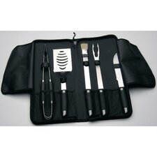 Geminis 6 Piece BBQ Utensil Set