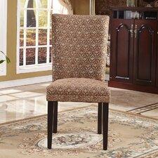 Elegant Damask Parsons Chair (Set of 2)
