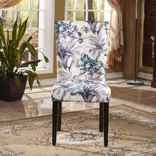 Elegant Floral Parsons Chair (Set of 2)