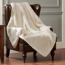 Signature Luxury Faux Fur Throw Blanket