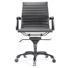 Vegan Leather Executive Office Chair