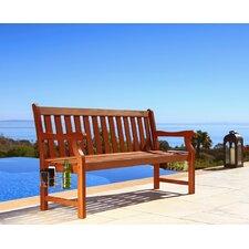 Malibu 3-Seater Wood Garden Bench