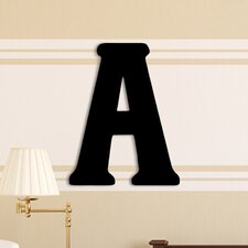 Oversized Painted Letter Hanging Initial
