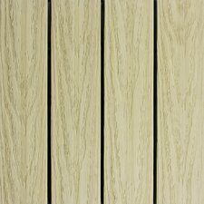 "Naturale Composite 12"" x 12"" Interlocking Deck Tiles in Sahara Sand (Set of 10)"