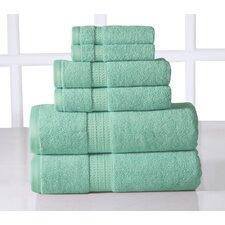 Casa Platino Bamboo and Egyptian Cotton 650 GSM 6 Piece Towel Set