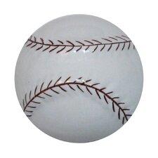 Baseball Cabinet Knob
