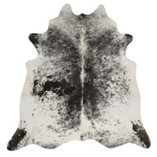 Natural Cowhide Salt & Pepper Area Rug