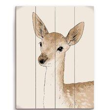 Painted Deer Graphic Art