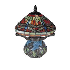 "Dragonfly 10.25"" H Table Lamp with Empire Shade"