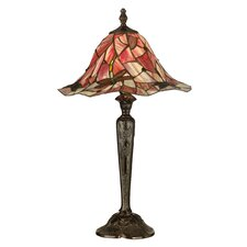 "Dragonfly 27"" H Table Lamp with Bell Shade"