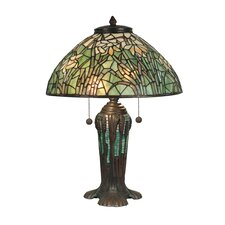 "25.75"" H Table Lamp with Bowl Shade"