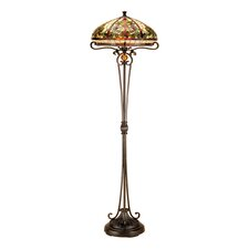 Boehme 2 Light Torchiere Floor Lamp