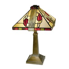 """Miniature Henderson 15"""" H Table Lamp with Empire Shade"""
