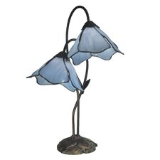 """Poelking Lily 21"""" H Table Lamp with Novelty Shade"""