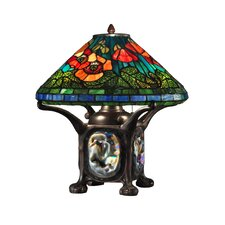 """Poppy 17.5"""" H Table Lamp with Empire Shade"""