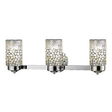 Alps 3 Light Bath Vanity Light