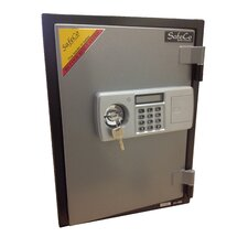 2 Hr Electronic Lock Home Fireproof Safe 0.76 CuFt