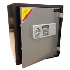 2 Hr Electronic Lock Home Fireproof Safe 1.24 CuFt