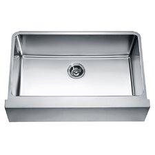 """33"""" x 20.75"""" Under Mount Single Bowl Kitchen Sink"""