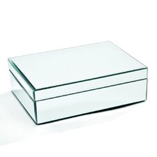 Medium Glass Jewelry Box