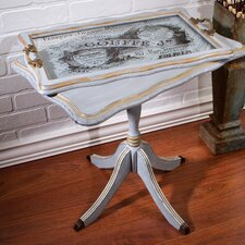 French Butler End Table and Tray