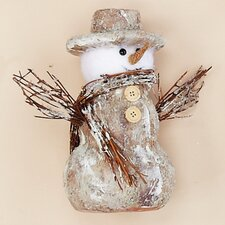 Snowman with Twigs