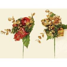 Decorative Christmas Pick (Set of 12)