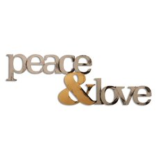 Peace and Love Wall Décor