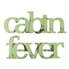 Cabin Fever Wall Decor