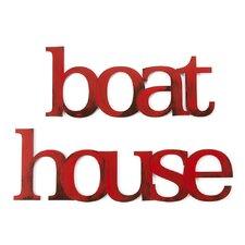 Boat House Wall Decor