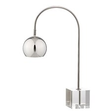 """Task 22.5"""" H Table Lamp with Globe Shade"""