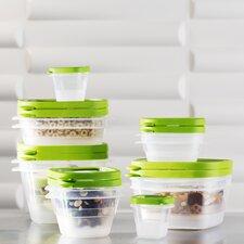 Wayfair Basics 24 Piece Plastic Food Storage Container Set