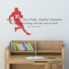 Show Class Wall Decal
