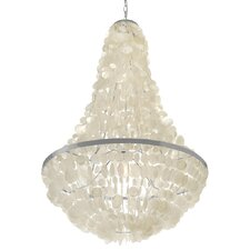 Manor 3 Light Capiz Seashell Chandelier