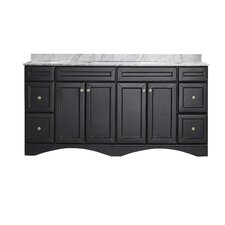 "Naples 72"" Double Vanity Set"