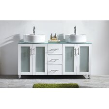 "Tuscany 60"" Double Vanity Set"